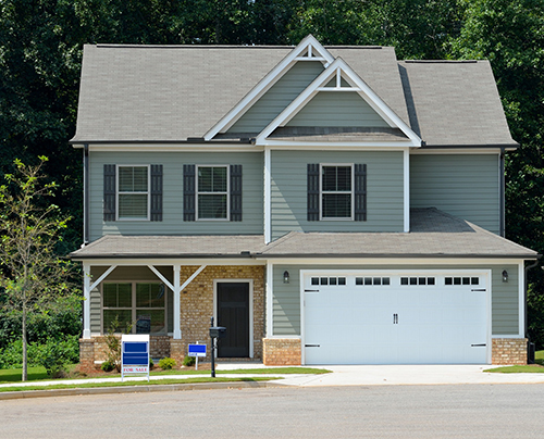 2-story home with shutters for sale - conventional loans
