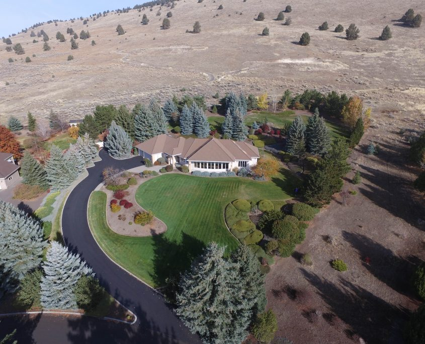 salem aerial photo from the air of oregon property - home loans