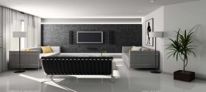 contemporary living room grays - Home Equity Line of Credit (HELOC)